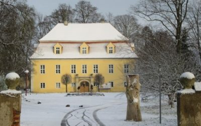 Startseite - Gutshaus Winterbild
